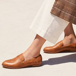 058fb898952 Free People Shoes - Free People Lou Lou Myria Penny Loafer Whiskey Tan